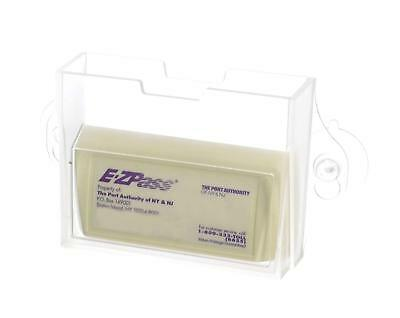 EZ Pass Toll Tag Holder, Fits New & Old Transponder, i-Pass, i-Zoom, Clear