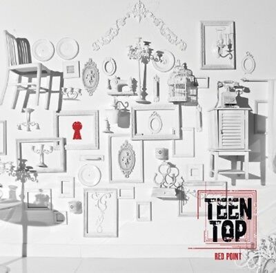 Teen Top 7th Mini Album [RED POINT] CHIC Ver. CD+72p Photobook+Photocard Sealed