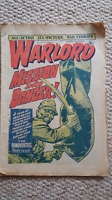 Warlord Comic Issue 116 / 11 Dec 1976