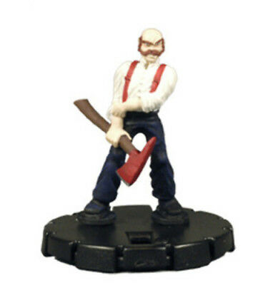 HorrorClix: Firefighter - 073 [Figure with Card] Freakshow Miniatures HeroClix C