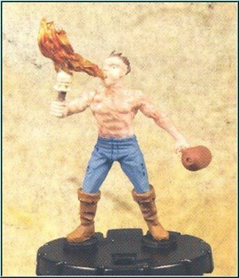HorrorClix: Scorch [Figure with Card] Freakshow Miniatures HeroClix Compatible