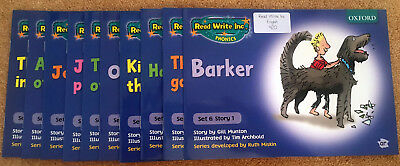 Read, Write, Inc. Phonics Blue Set 6 Storybook Mixed pack of 10