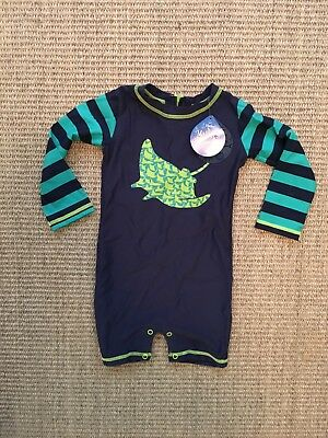 Hatley boys 12-18 Month One Piece Swimsuit NWT