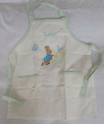 "Pottery Barn Kids Peter Rabbit™ Apron ""Leia"" No Longer Available Easter"