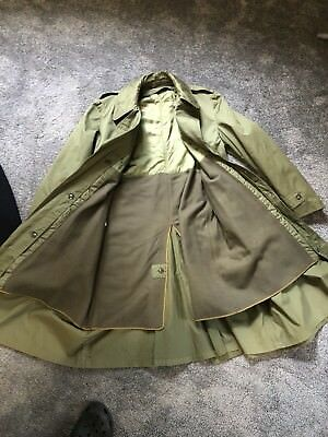 1955 Army Trench Coat Never Worn. Authentic
