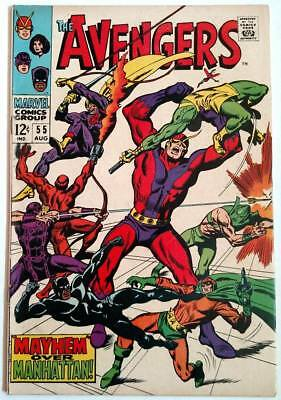 The Avengers #55 (Aug 1968, Marvel) 1st Appearance of Ultron - key issue