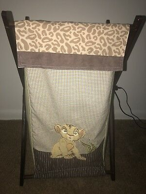 The Lion King Hamper - Disney Baby  Simba - Rare - HTF