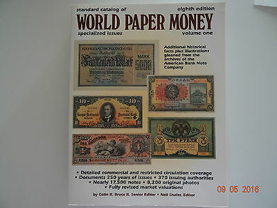 366- World Paper Money, Specialized issues Vol. 1, eighth edition