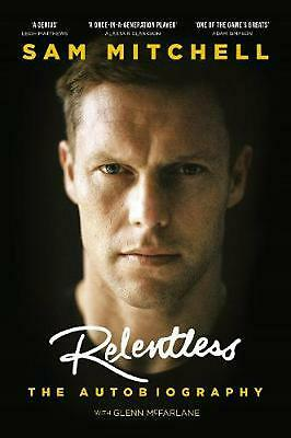 Relentless by Sam Mitchell Hardcover Book Free Shipping!