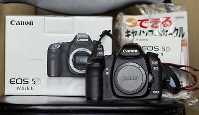 Great EOS Canon 5D MarkⅡ 2 Mark II Shutter Count 34,919 21.1 MP BODY ONLY JAPAN