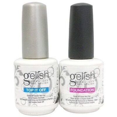 """Gelish """"Top Coat"""" & """"Foundation"""" """"Structure BRAND NEW 
