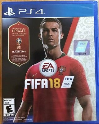 FIFA 18 [ FIFA World Cup Russia 2018 Update Edition ] (PS4) NEW *Available Now*