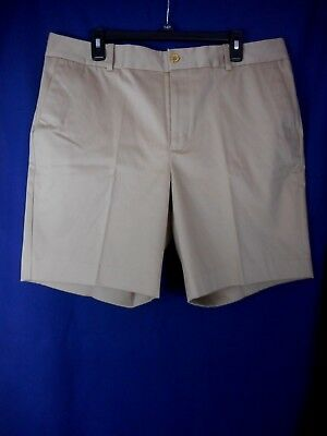 Ralph Lauren Women's Khaki Colored Flat Front 4 Pocket Walking Shorts Size 16