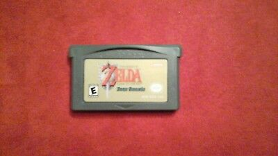 Legend of Zelda A Link to the Past & Four Swords Game Boy Advance GBA - Auth.