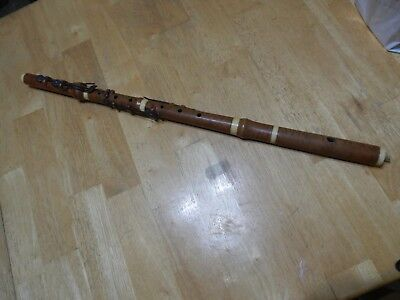 Antique 6 Keyed Wooden Flute