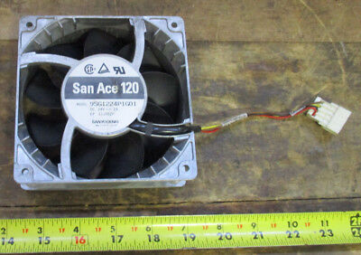 Sanyo Denki San Ace 120 Fan Model 9SG1224P1G01,24VDC, 2A