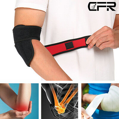 Elbow Brace Support Neoprene Adjustable Basketball Strap Arthritis Bandage