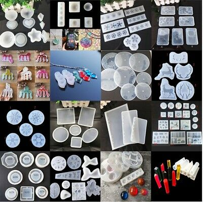 Mould Handmade Craft Silicone Resin Mold for DIY Jewelry Pendant Making Tool