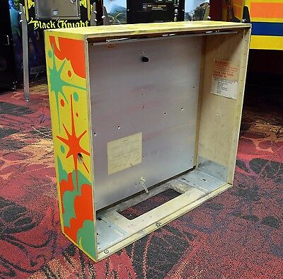 Gottlieb GENIE PINBALL Machine STRIPPED BACK BOX HEAD ~ Use For Firewood Or ???