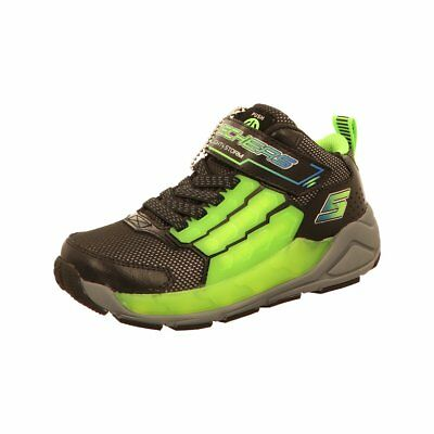 SKECHERS S LIGHTS 90710L Schwarz NVBL Kinder Blinkschuhe LED