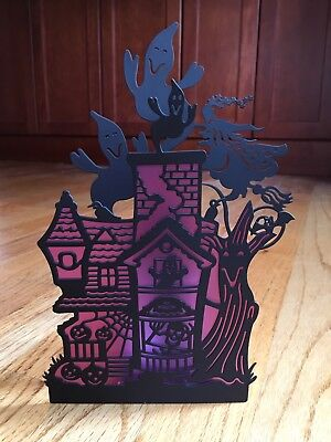 Partylite Ghostly House Wall Sconce - P8268 - Votive - Mib