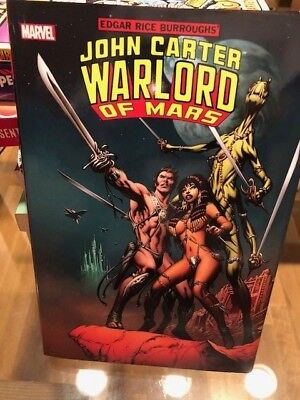 Hardcover Book John Carter Warlord Of Mars New $99 Book - Free Shipping
