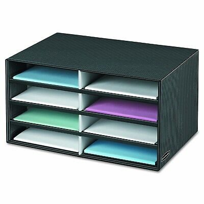 Paper Organizer Sorter Eight Compartments Desk Office File Mail Classroom