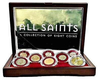 All Saints: A Collection of Eight Coins, Beautiful Box,Story  And Certificate
