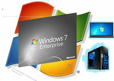Windows 7 Enterprise 32/64 Bit Digital Key Schlüssel DE Multilingual Vollversion