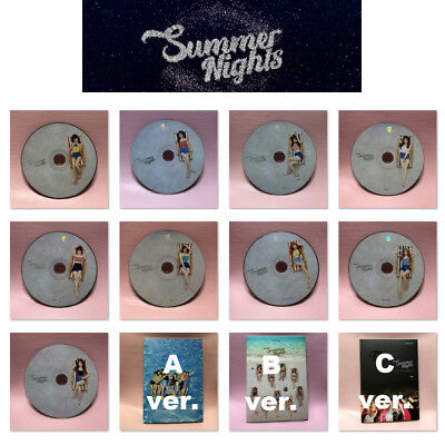 TWICE 2nd Special Album SUMMER NIGHTS Opened CD with Booklet NO Photocard Select
