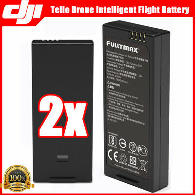 2PCS For Original DJI Tello Drone Intelligent  Flight Battery 1100 mAh 3.8V