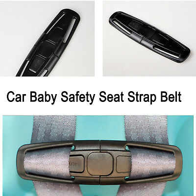For Children Baby Kids Car Safety Seat Strap Belt Harness Chest Clip Safe Buckle