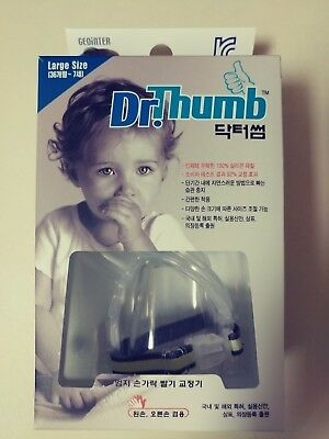 Dr. Thumb Stop Sucking Thumb Finger Protect Guard Large Size 36M~7Y