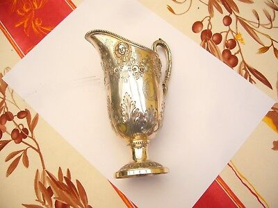 Antique Victorian Silver Jug