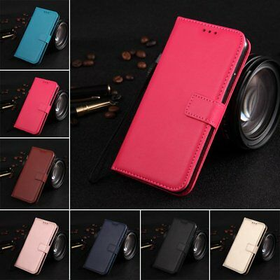 For Samsung Note 3 4 5 8 Magnetic Flip PU Leather Wallet Stand Case Cover KU