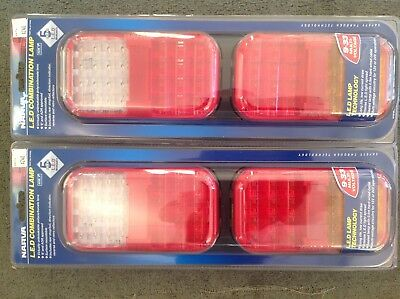 NARVA 94162BL 9-33 Volt L.E.D Rear Twin Stop/Tail Indicator And Reverse Lamp