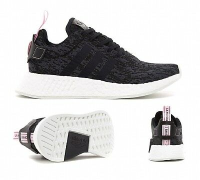 RRP SF32 Womens Adidas NMD R2 WhiteGrey Trainers £109.99