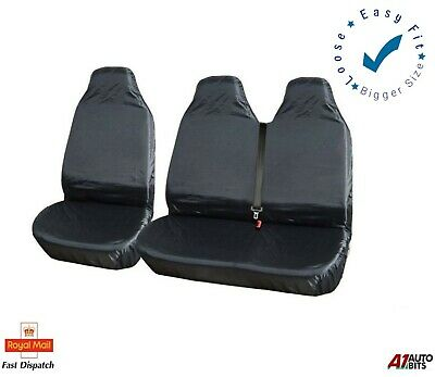 2+1 Heavy Duty Waterproof Front Seat Covers For Peugeot Partner Citroen Berlingo