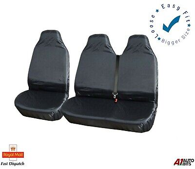2+1 Heavy Duty Waterproof Front Seat Covers Protectors For Opel Vivaro Movano