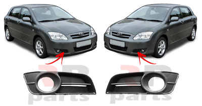 TOYOTA COROLLA 2004-2007 NEW LOWER FRONT BUMPER GRILLE WITH HOLE FOGLIGHT RIGHT