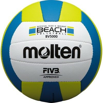 Molten JAPAN FIVB Approved Official Beach Volleyball BV5000 Size:5 With Tracking