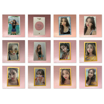 TWICE JIHYO Official PHOTOCARD 2nd Special Album SUMMER NIGHTS 지효 Photo Card