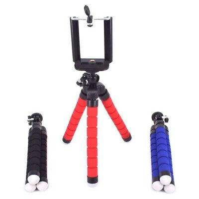 Flexible Octopus Mini Tripod+Holder Clip Stand Mount For Cell Phone Camera DC US
