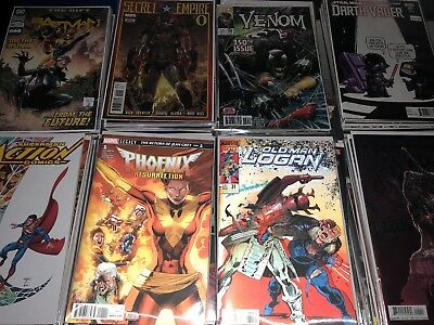 Huge Comic Book Lot 10 Marvel Dc Indy Superman Batman X-Men No Duplicates