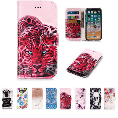 Fashion Wallet Flip PU Leather Case Cover Painted Magnetic For ipod Touch 5/6 KU