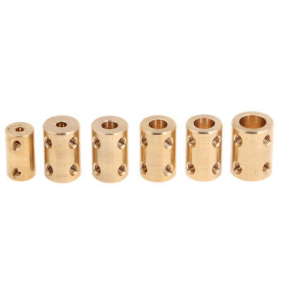4/6/8/7/3.17/10mm Brass Flexible Motor Shaft Connect Coupling Coupler Wrench