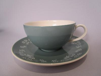 Royal Doulton Queenslace D.6447 Tea Cup and Saucer