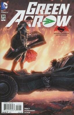 Green Arrow #50 Batman v Superman Dawn Of Justice Variant Cover (Vol 6) New 52