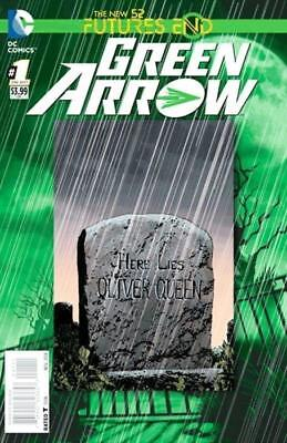 Green Arrow: Futures End #1 3D Motion Cover