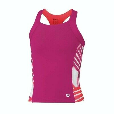 WILSON Girls SP Watercolor Tank Top Tennis Sports